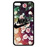 Beautiful Flower Background Nike Phone hülle Handyhülle Cover for Ipod Touch 6th Generation Just Do It Luxury Pattern,Telefonkasten SchutzHülle