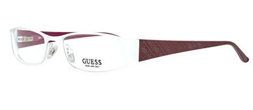 GUEX5 Damen Brillengestelle Brille GU2205 50T39, Weiß, 50