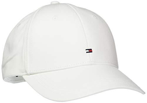 Tommy Hilfiger Herren Baseball Cap CLASSIC BB, Gr. One size, Weiss (CLASSIC WHITE 100) -