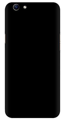 Oppo F1S Back Cover, Back Cover For Oppo F1S Selfie Expert, Slim Matte Finish Rubberized Black Hard Back Case Cover for Oppo F1S Back Cover