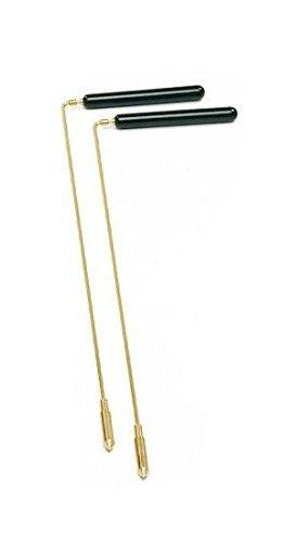 dsnetz Wünschelrute mit Holzgriff 38 cm | Radiästhesie Tesnsoren Pendel Ruten | Esoterik Geschenke günstig online kaufen