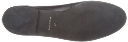 French Sole Henrietta Plain Leather, Ballerines femme Noir - noir