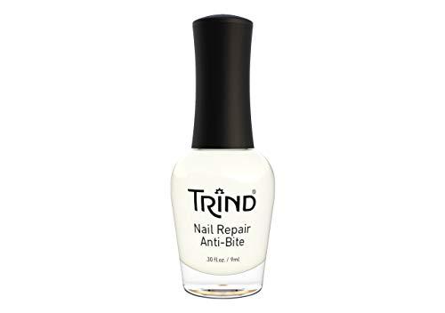 Trind, Smalto rinforzante Anti Bite, per lottare contro il rosicchiamento delle unghie, 9 ml