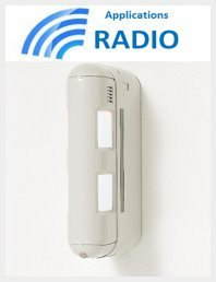 Optex bx-80N-r–Detector volumétrico fachada
