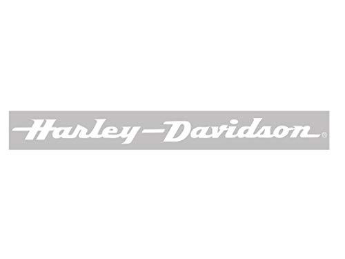 Harley-Davidson H-D White XpressionZ - Windshield Decal 2 - - CG3701 (Buchstaben Harley Davidson Aufkleber)