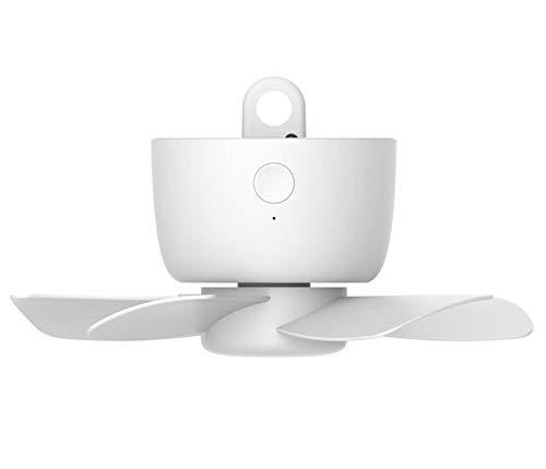 Ventiladores de techo Carga pequeño USB del hogar mosquitera Ventilador del Dormitorio...