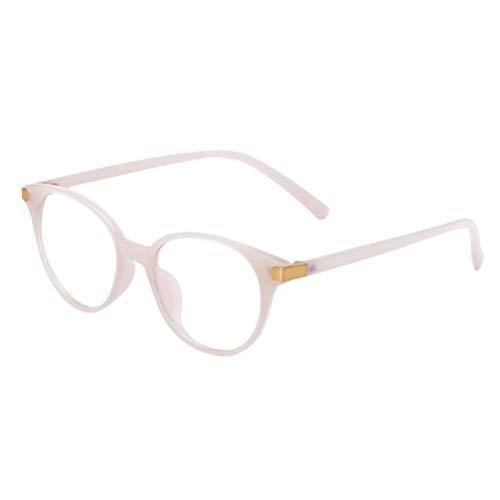 HPTAX-VB Spiegeln Blaues Licht, das Brillen blockiert - Gläser für Spieltelefone Leichte Goggle Cat Eye Rahmen Klare Linse Vintage Männer Frauen Brillen