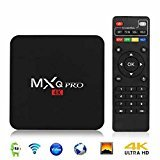 #4: Profitech MXQ PRO Amlogic S905x Android 6.0 TV Box Quad Core Set Top Boxes XBMC Kodi Pre-installed WiFi 4K 1080P 64bit Internet TV Box