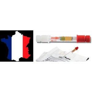 Alcohol Alkoholtest NF Zugelassen für das Fahren in Frankreich Twin Pack Einweg-