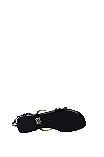 8X52235H0F0BHU Fendi Sandale Femme Cuir Noir Noir