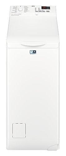 AEG L6TB40460 Waschmaschine/Energieklasse A+++ (150 kWh pro Jahr) / 6 kg/Toplader Waschautomat/schonendes Waschen/Mengenautomatik/ Startzeitvorwahl/Weiß