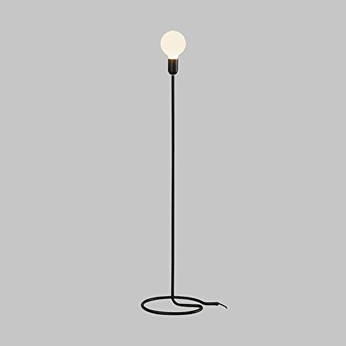 L-R-H Retro Industrial Hierro Lámpara de pie, Personalidad Arte la luz del...
