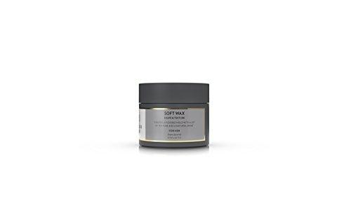 lernberger stafsing Mr Soft Wax Cire 90 ml cheveux pour un léger, tenue flexible avec texture, définition & Brillance