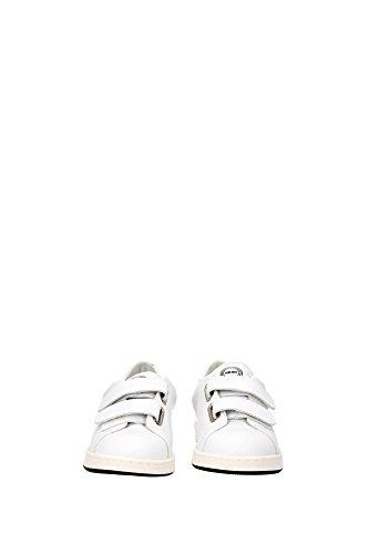 L502SN11301K62 Kenzo Sneakers Femme Cuir Blanc Blanc