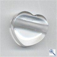 Cristal de Roca de corazón auténtica piedra preciosa CA Intercambio