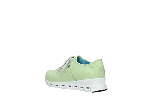 Wolky Comfort Baskets Mega 30750 cuir vert-lime