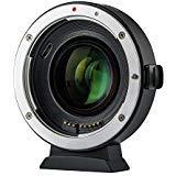 Viltrox EF-EOS M2 Autofokus Objektiv-Adapter-Konverter 0,71x Brennweiten-Reduzierer Speed Booster für Canon EF-Objektiv zu Canon EOS-M (EF-M Mount) Mirrorless-Kameras M2 M3 M5 M6 M10 M50 M100
