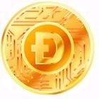 Bitcoin Moneda física dorada de cobre