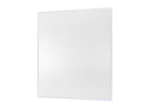 Insektenschutz Fliegengitter Fenster Alurahmen Basic Zuschnitt weiß, braun oder anthrazit, in verschiedenen Größen, ohne Bohren und Schrauben