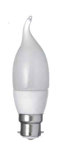 Energenie - Bombilla de vela (LED, BC-B22, 3W)