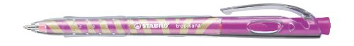 stabilo-tropicana-be-wild-338-56-5-penna-a-sfera-retrattile-in-confezione-da-10-colore-rosa