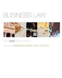 Business Law with UCC Applications Student Edition 12th (twelve) edition