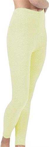 Super warme Lange Unterhose für Damen Farbe Cremeweiß Größe L