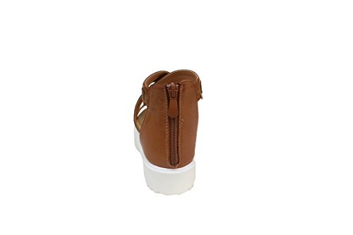 Cafè Noir Sandelholz Damen Fasce Hintergrund Alto Cm 4 Leder Schnürsenkel Polieren Polieren