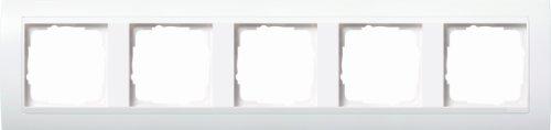 GIRA 0215803 Mascherina di copertura 5 moduli per bianco puro brillante Event bianco puro brillante