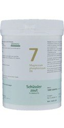 Schussler Salts Pflüger nr 7 Magnesium Phophoricum D6 1000 Tablets gluten free from Schussler Salts Pflüger