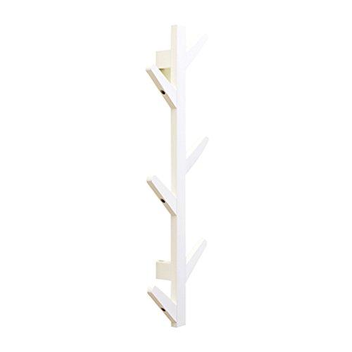 Toyvian Perchero bambu Pie 6 Ganchos | Rama árbol