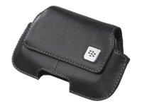 BlackBerry Storm 9500 Leder Horizontal Holster schwarz -