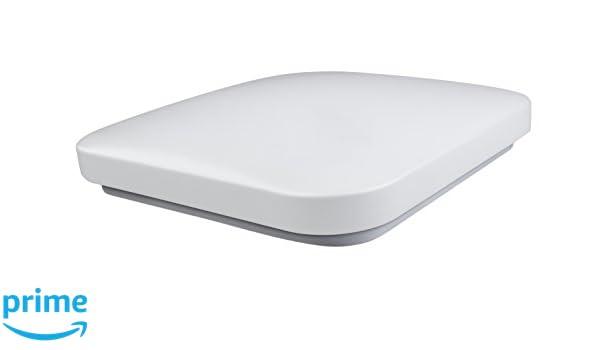 Plafoniera Quadrata Led : Kai plafoniera led quadrata w bianco