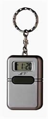 LUXUS Sprechender Schlüsselanhänger mit Uhrzeit Ansage Uhr Sprechende Blindenuhr