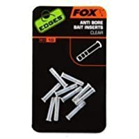 Fox Edges Anti Bore Bait Inserts Clear by Fox Int