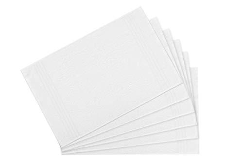 500 g//m/² 100/% cotone Bettenpoint 8 asciugamani antracite 50 x 100 cm