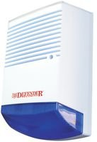 DUMMY ALARM BOX WITH LED & BLUE LENS RL-900B By DEFENDER SECURITY