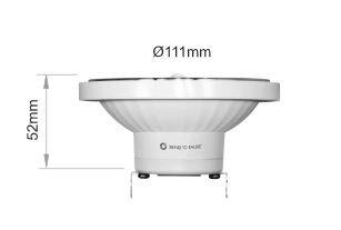 LÁMPARA LED LYNK BENEITO FAURE PAR38 13W 45º G53, 220, 3000 K, LUZ B