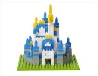 nanoblock Nano Block Tokyo Disneyland Cinderella Castle japan import