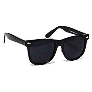 Y&S Uv Protected Non Polarized Wayfarer Boy's Girl's Men's & Women's Sunglasses Combo(Cm-Blk-Gldn-Stk+Blkblkwayf| 55| Black Blue)