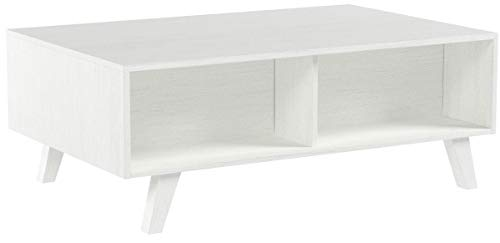 COMIFORT, moderner, höhenverstellbarer Couchtisch, Tisch für Cafés, Esstisch oder für das Wohnzimmer, Maße: 100 x 65,6 x 38,1/48