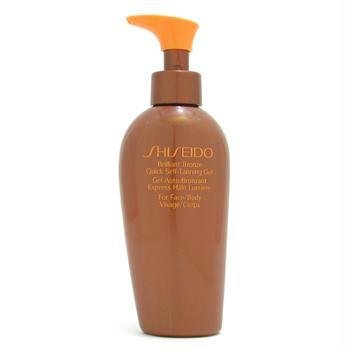 Shiseido bronzo brillante rapido autoabbronzante gel (for face & body) – 150 ml/141,7 gram