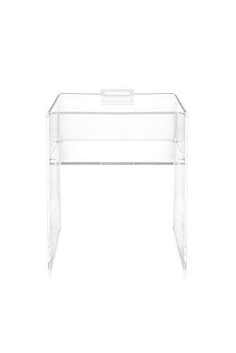 iplex Design Lyn Chevet Lumineux avec lumière LED Amovible, plexiglass/PMMA, 40 x 33 x 49 cm