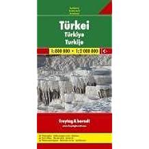 Türkei 1 : 800 000 / 1 : 2 000 000. Autokarte. Mit Ortsverzeichnis (Maps & Atlases)