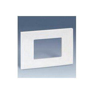 Simon 2700613-031 - Placa Americana Marfil 3 Mód. Estrechos