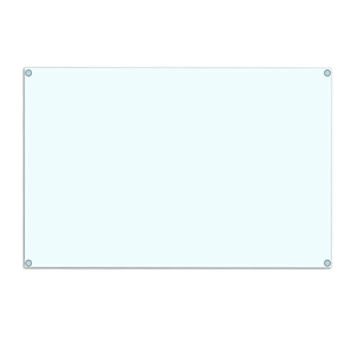 Glass Creations Glass Fancy Mirror (61 cm x 1 cm x 46 cm, Transparent)