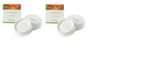 lepo-2-confezioni-di-polvere-di-riso-20-grammi-bianca-opacizza-e-uniforma-il-colorito