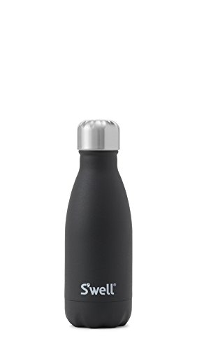 S'well 9oz Stainless Steel Water Bottle: Onyx