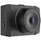 YI Telecamera da Cruscotto Dash Cam da 2,7K Risoluzione Ultra HD,Controllo Vocale con Sensore di Gravità a 3 Assi Dash Camera da Auto WIFI Integrato,Rilevamento d'impatto,Visione Notturna per Notturna