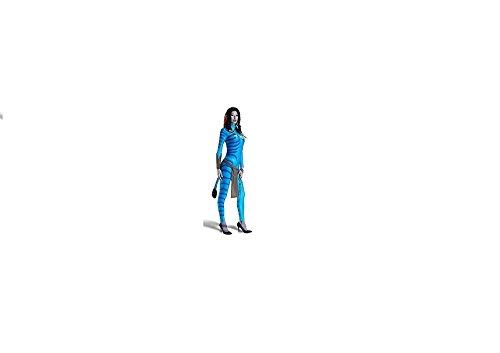 Avatar erwachsenes Abendkleid-Kostüm Neytiri (Frauen Avatar Für Kostüm)